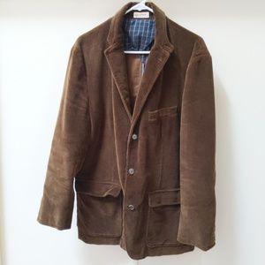 J. Crew Corduroy British Style Sport coat large L